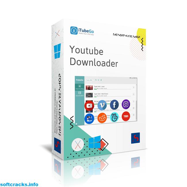iTubeGo YouTube Downloader Crack 4.3.5 + Registration Code Download [2021]
