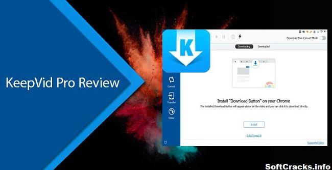 KeepVid Pro 8.1 Crack + Registration Key Full Download Latest {2021}