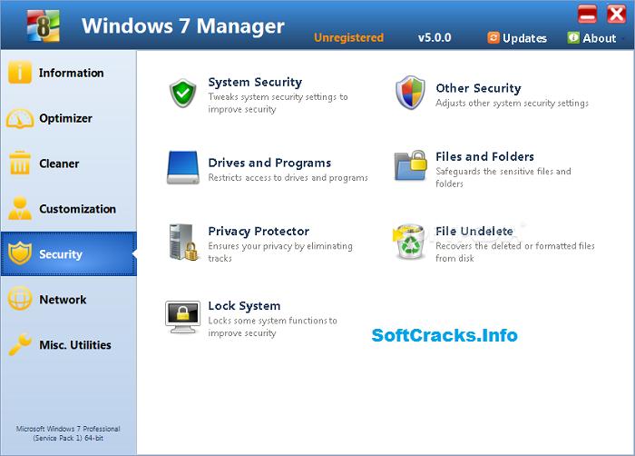 Windows 7 Manager 5.2.0 Crack Full Patch & Keygen 2021 [Latest]